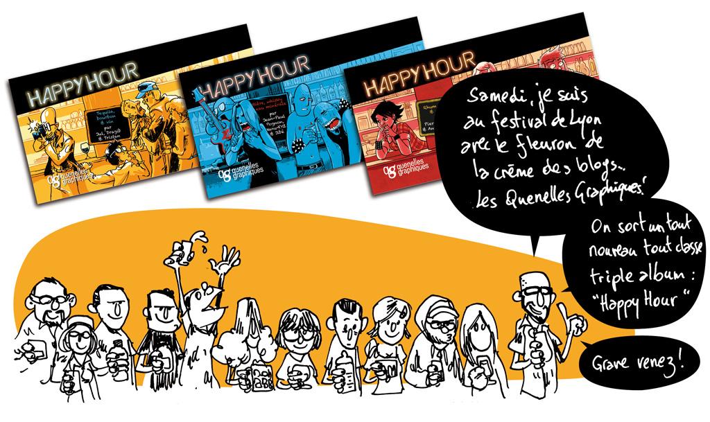 Strip numéro 20, comportant auto-promotion et auto-édition