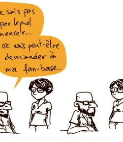 Strip numéro 33, mitigeant les ardeurs artistiques d'une humilité de bon aloi