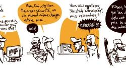 Strip numéro 37, examinant l'absurdité techno-administrative